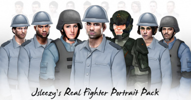 Jsleezy's Real Fighter Portrait Pack