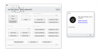 Watch_Dogs Mod Manager