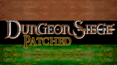 Dungeon Siege Patched