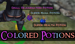 Colored Potions