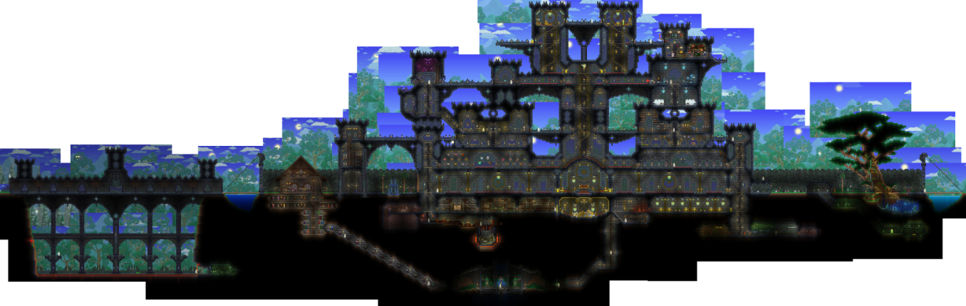 Big Castle At Terraria Nexus Mods And Community