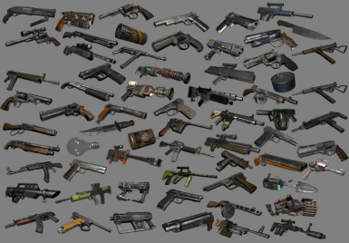 Weapon Sprite Pack