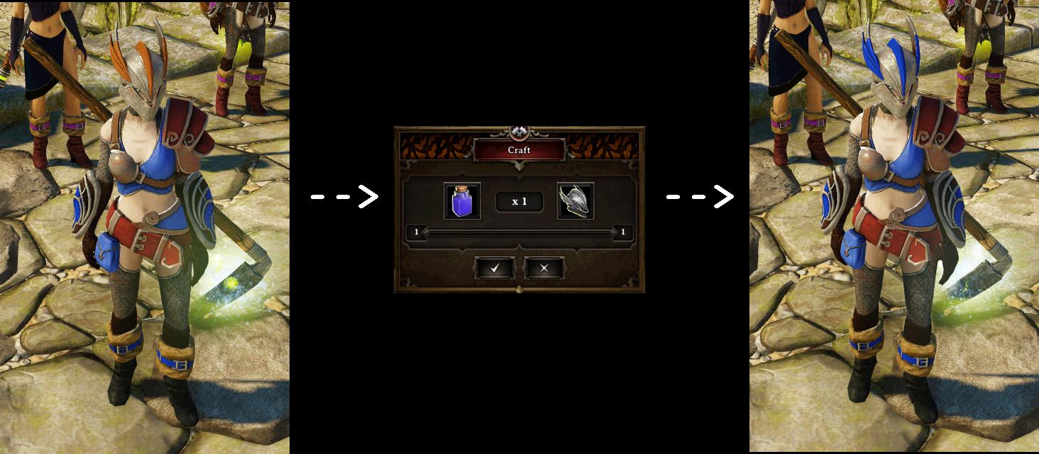Craftable Armor Dyes And Dyeable Helmets By Mr Esturk At