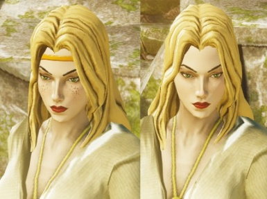 Female Head 06 Reskin