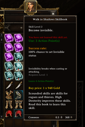 All Skillbooks Purchasable