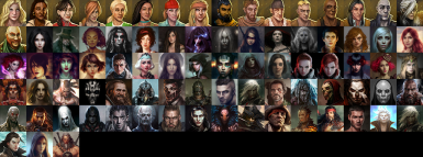 Custom Portraits For Enhanced Edition