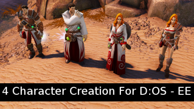 Four Character Creation - For the EE