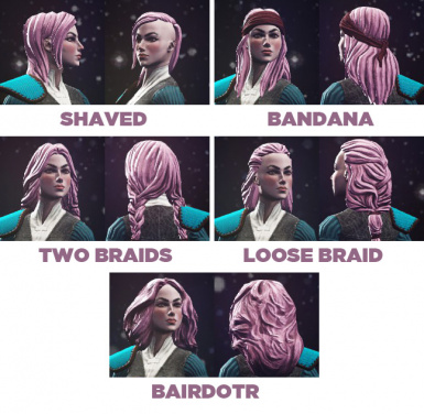 Hireling Hair for Player
