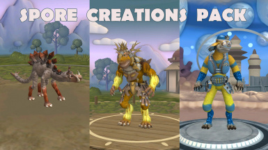 Spore Creations Pack (by Sakura9)