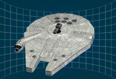 Star Wars - YT-1300 Hull (Millennium Falcon)