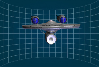 Star Trek - USS Enterprise Hull (2009 Movie Version)