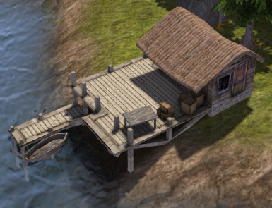 Fishing Dock Buff