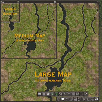 Banished UI - Maps