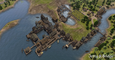 DS Jetty and Bridge at Banished Nexus - Mods and community