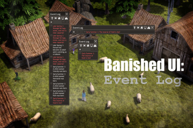 Banished UI - Event Log