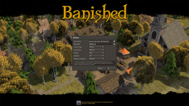 Banished UI - Town Names