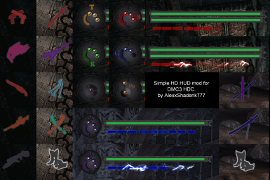 HDC DMC3SE - Template Simple HUD