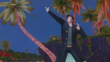 Jotaro Kujo Outfit - JJBA at The Sims 4 Nexus - Mods and