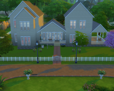Graywood Manor The Sims 4