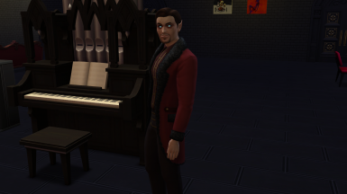 Vampire Form Flirty and Energized Lot Traits