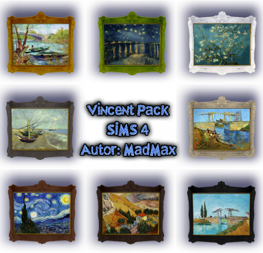 Vincent s painting pack