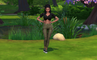 Adelfa Pereira a female sim for The Sims 4