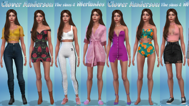 Clover Anderson for The sims 4