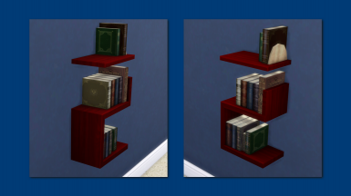 Intellectual Illusion Wall-Mounted Bookcase