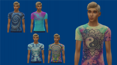 Psychedelic and Tie Dye Shirts