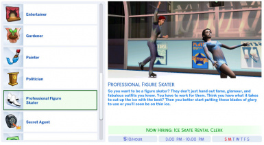 Figure Skating Career at The Sims 4 Nexus - Mods and community