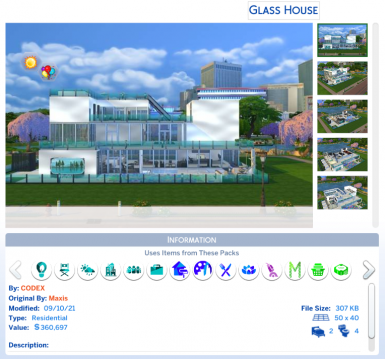 JCS Survey and Builders LOT 7 GLASS HOUSE 777 Easy St