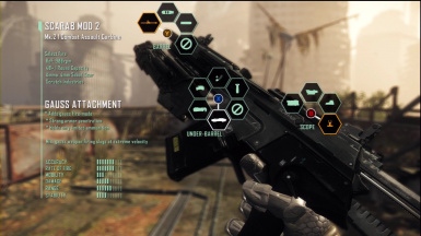 Crysis 3 ingame weapon customization for PD2