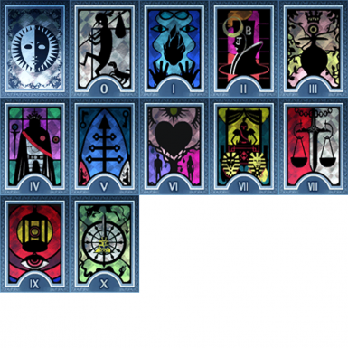 Persona 3 Major Arcana Infamy Cards
