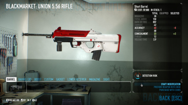 Union 5.56 blackjack skin