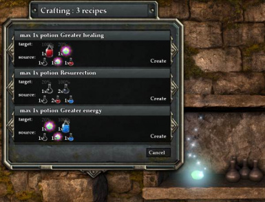 Forge recipes
