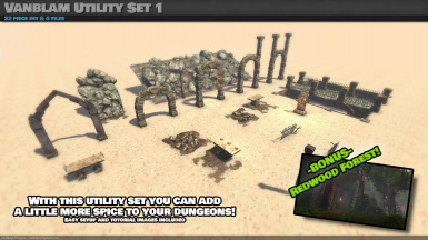 Vanblam Utility Set 1 - Bonus Redwood Forest -