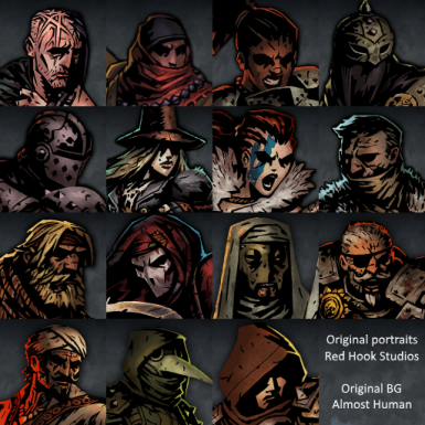 Darkest Dungeon portraits (and a bonus)
