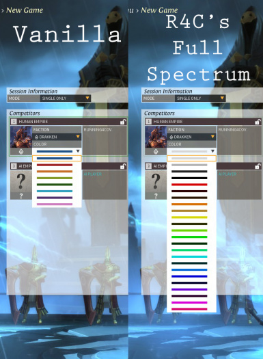 Running4Cover's Full Spectrum Palette Replacer