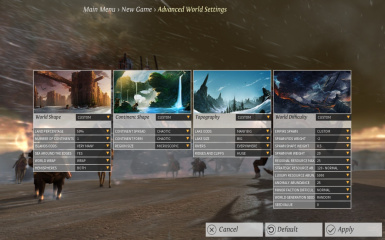 World Generator Full Customization