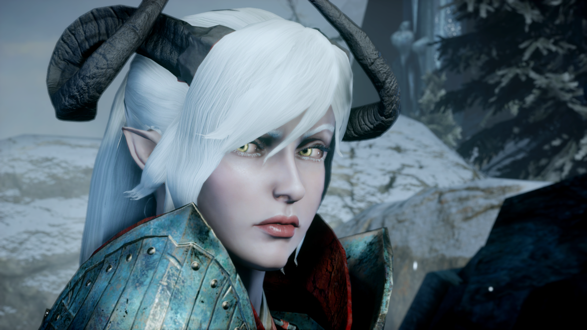 Ponytail for Female Qunari at Dragon Age: Inquisition ...