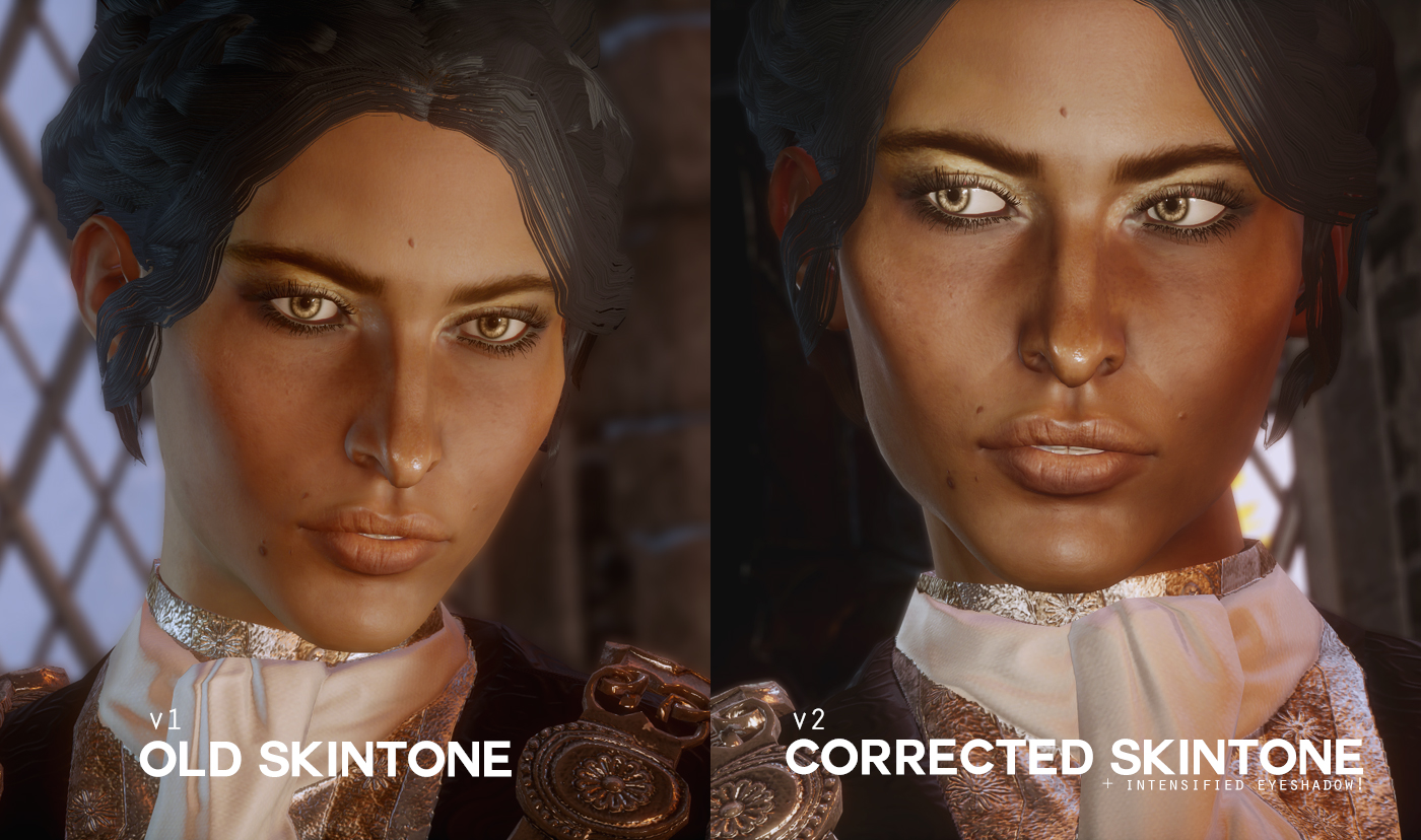 Lady Ambassador - Josephine Outfit and Complexion at Dragon Age