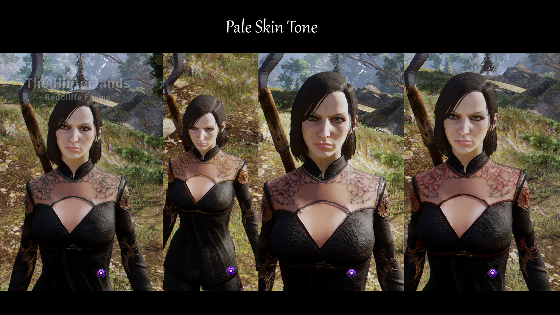 Human Female PJ - Black Silk with ribbon at Dragon Age: Inquisition ...