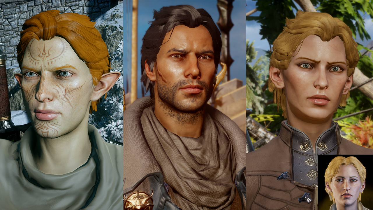 Assorted Hairstyles at Dragon Age: Inquisition Nexus - Mods and ...