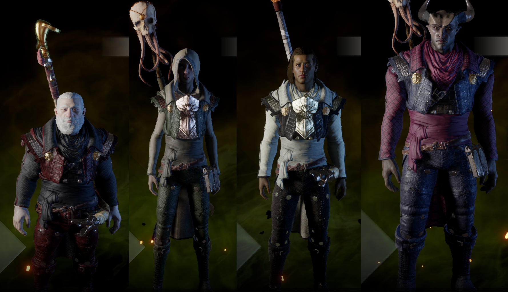 Pj and light armor tinting tweaks at dragon age inquisition nexus