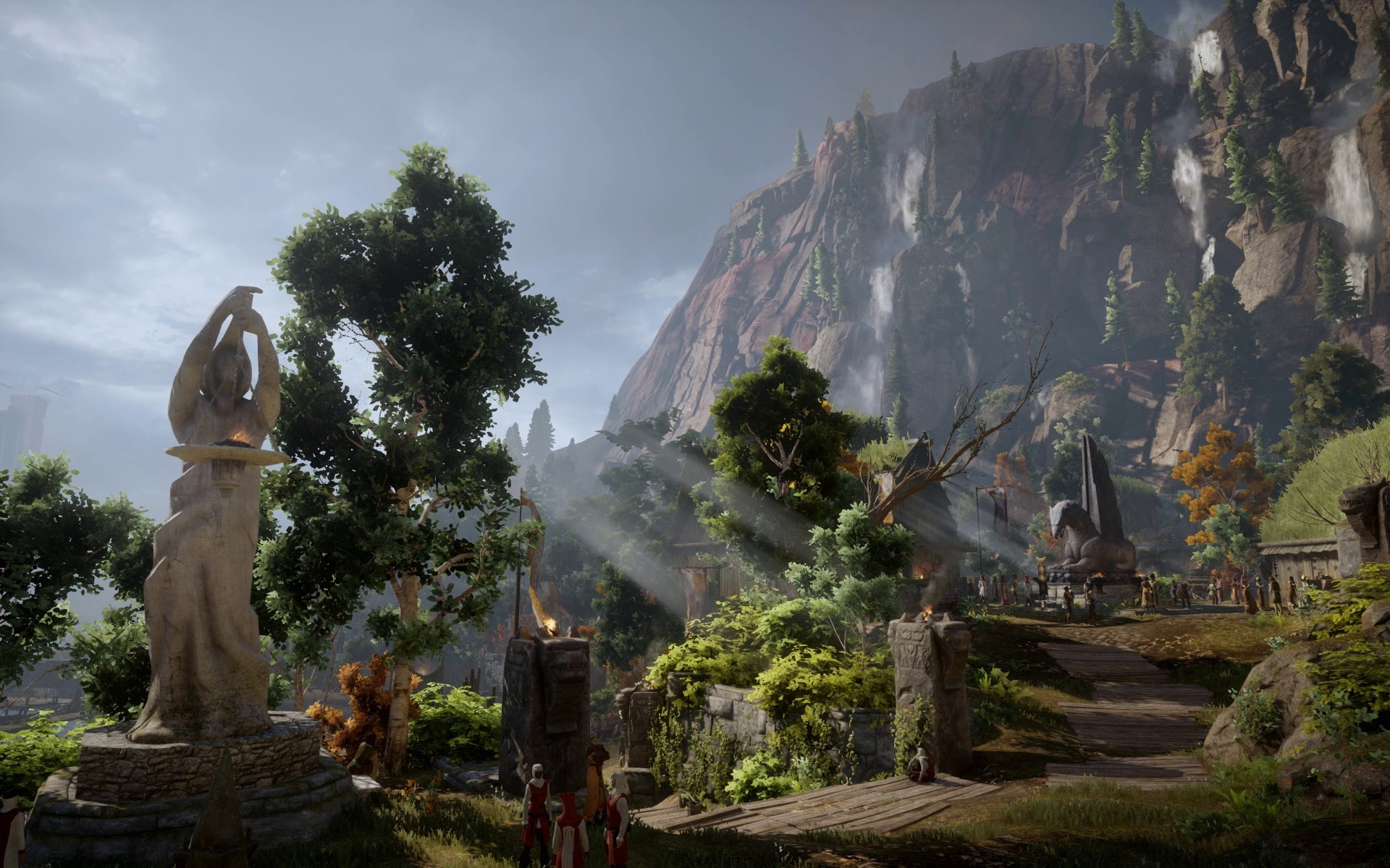 Animated desktop wallpaper of inquisition at dragon age - Dragon age inquisition wallpaper 4k ...