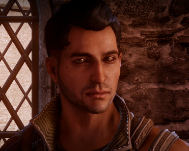 Dorian with matte skin - unsweaty Dimples