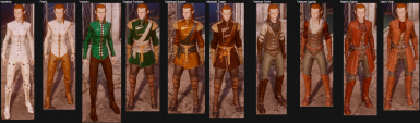 Autumn Skyhold Outfits - config v1