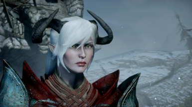 Ponytail For Female Qunari At Dragon Age Inquisition Nexus Mods