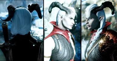 Qunari Female Sidebraid Angles