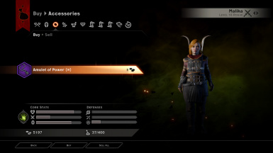 Amulet of Power - Unlimited at Dragon Age: Inquisition Nexus